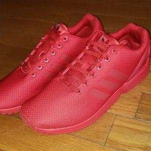 Adidas ZX Flux all red Sz12